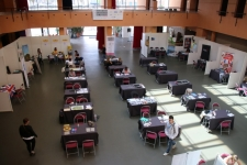 La salle des Speed Dating