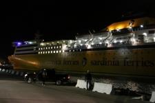 Arrivée du ferry