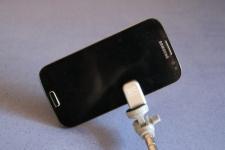 Fixation du smartphone