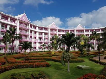 Environnement paysager de l'hôtel