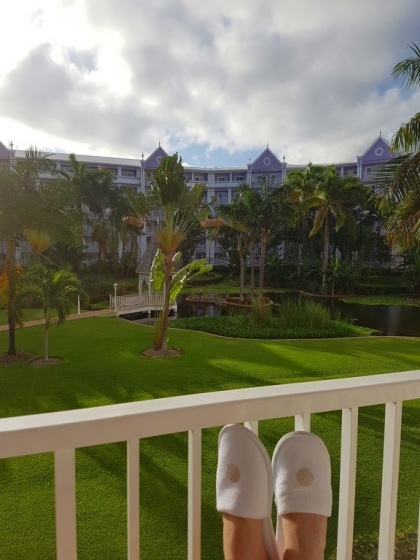 Vue balcon chambre standard