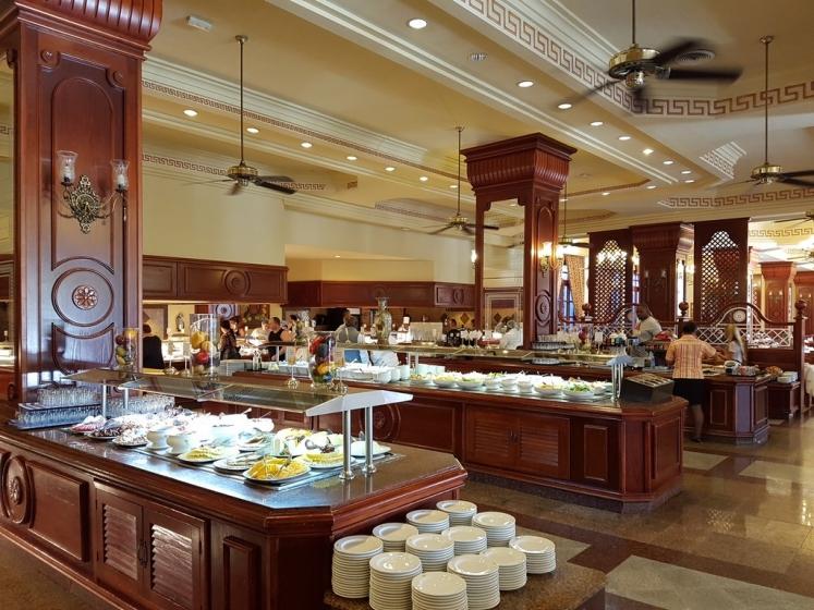 Salle restaurant de buffets