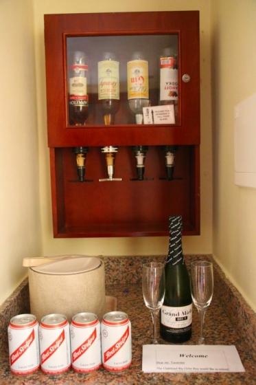 Bar de la chambre