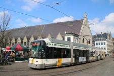 Le tram à Gand