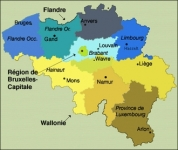 Les Provinces de Belgique