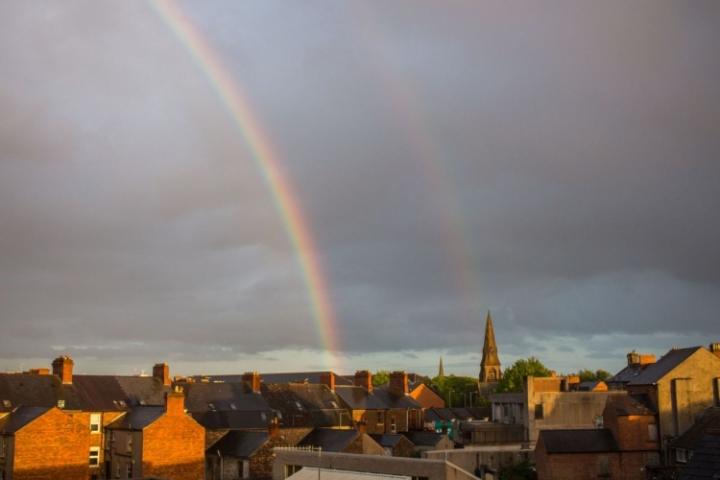 Belfast arc en ciel