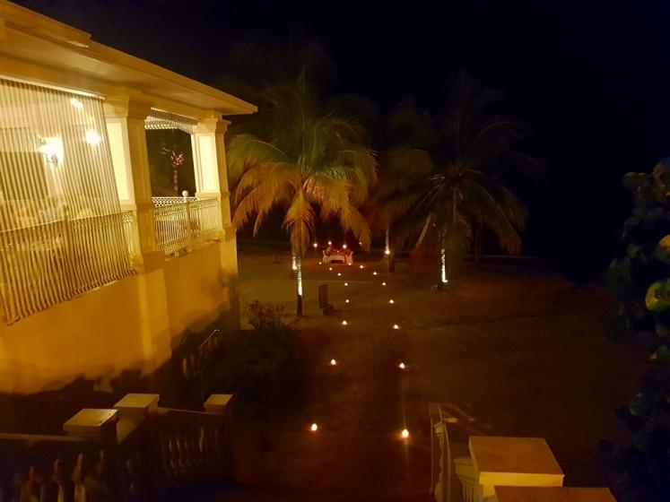 Diner romantique à la Jamaique