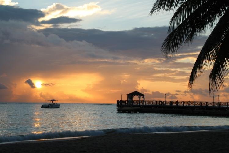 Coucher de soleil à la Jamaique