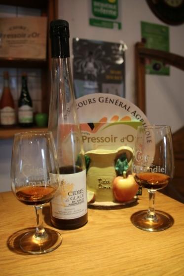 Dégustation Cidre de Glace au Pressoir d'Or