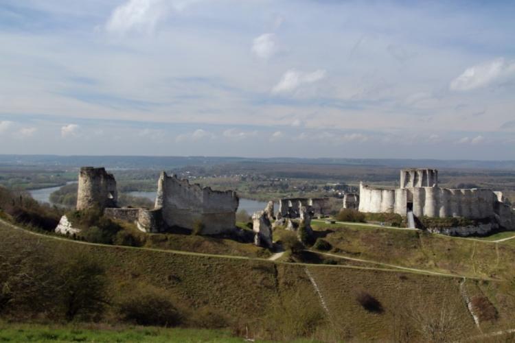 Vue panoramique sur le Château Gaillard