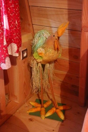 Coq de décoration