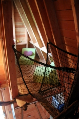 Salon détente à l'étage