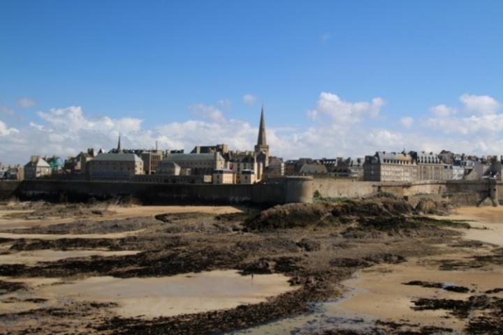 Saint-Malo vu depuis Grand Bé