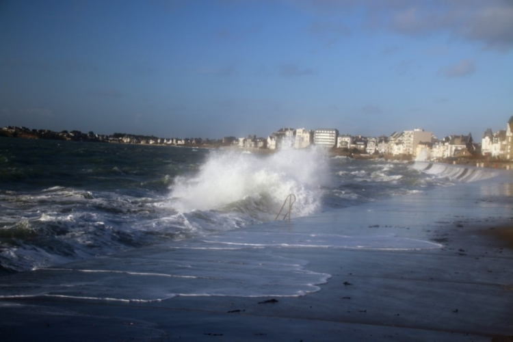 Les grandes marées de Saint-Malo