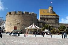 A l'entrée de Saint-Malo intra-muros