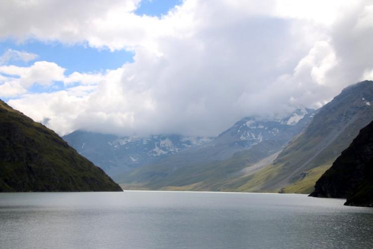 été dans le Val d\'Hérens : Lac des Dix