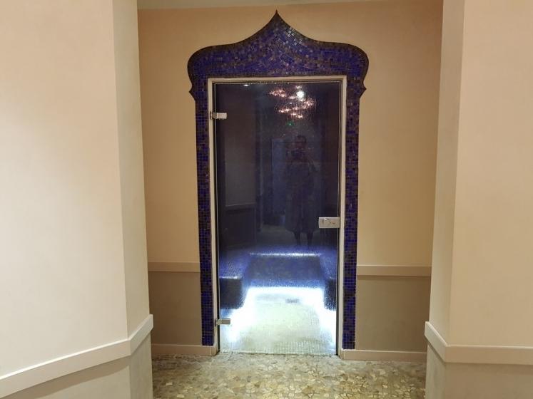 Séjour bien-être : entrée du hammam