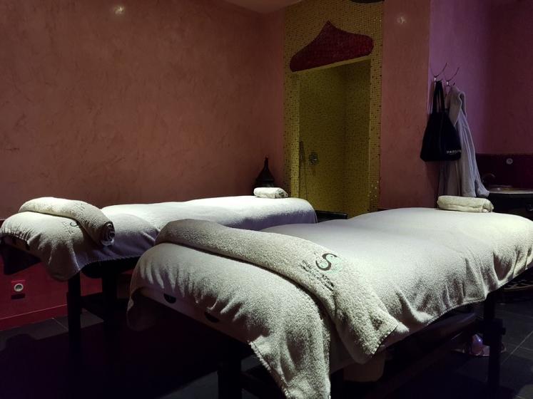 Séjour bien-être : salle de massage