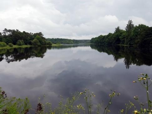 Lac du château de Comper