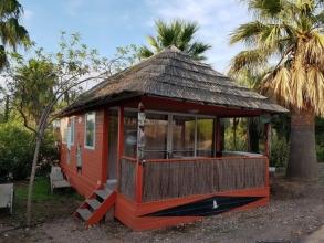 Domaine du Colombier : Le village africain