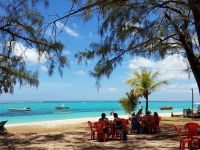 Ile Maurice : snacking à la plage