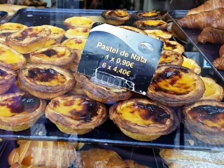 Que faire à Lisbonne : goûter les pasteis de nata
