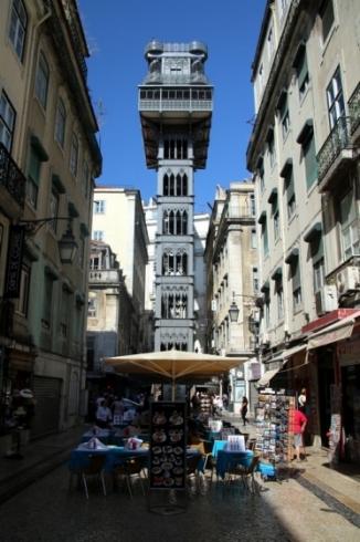 Que faire à Lisbonne : ascenseur Santa Justa