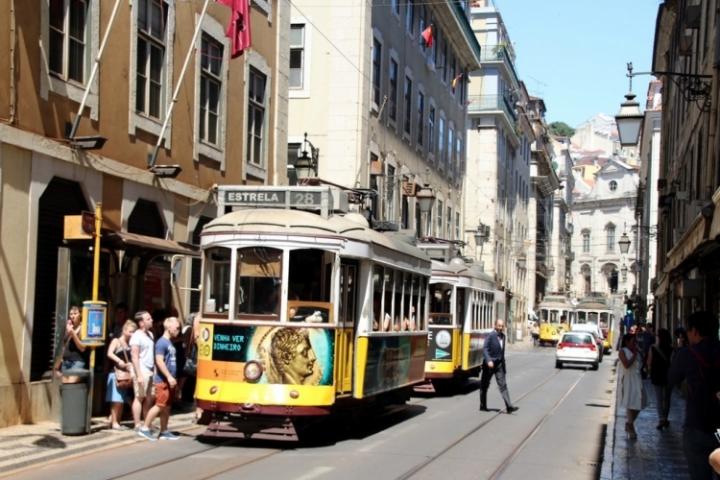Que faire à Lisbonne : ligne 28 tramway