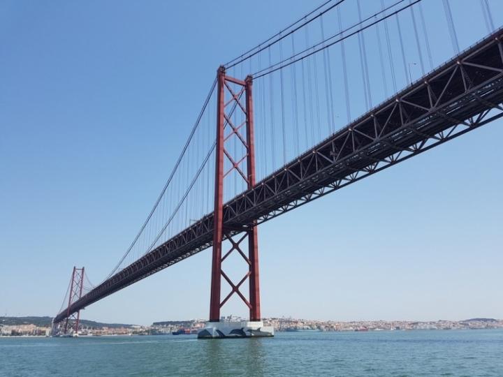 Que faire à Lisbonne : pont du 25 avril