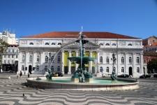 Que faire à Lisbonne : place du Rossio