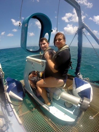 Que faire à l'île Maurice : Blue Safari Subscooter