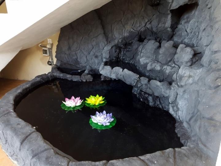 Ocean Dream : la cascade décorative