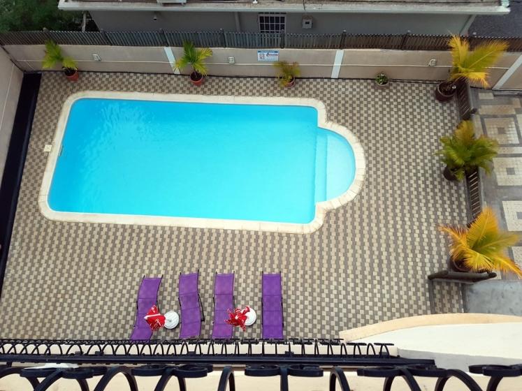 Ocean Dream : la piscine vue de haut