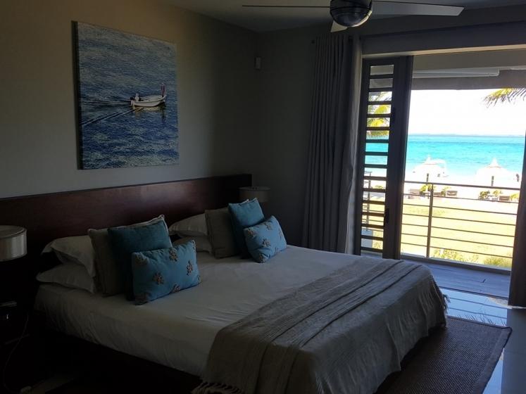 Paradise Beach : chambre principale de notre appartement