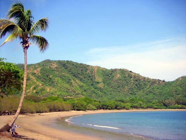 Plage paradisiaque de Playa Matapalo - Costa-Rica
