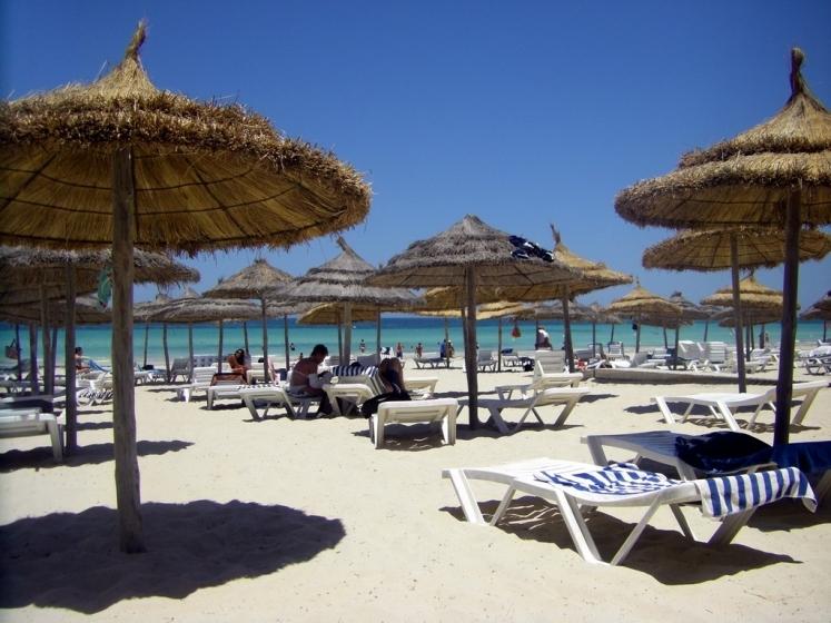 Plage paradisiaque de Djerba - Tunisie