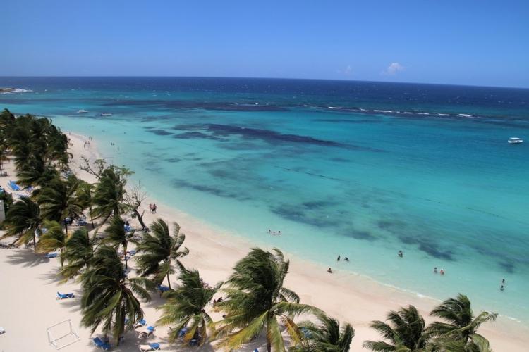 Plage paradisiaque de Ocho Rios - Jamaique