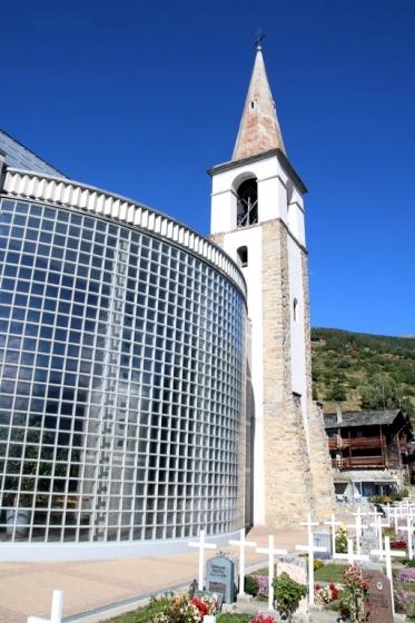 Val d'Hérens : Eglise de Mase