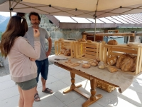 Val d'Hérens : pain artisanal