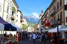 Val d'Hérens : Marché de Sion