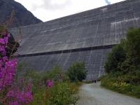 Val d'Hérens : Le Barrage de la Grande Dixence