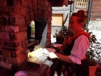 Val d'Hérens : Raclette au feu de bois