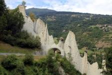 Val d'Hérens : pyramides d'Euseigne