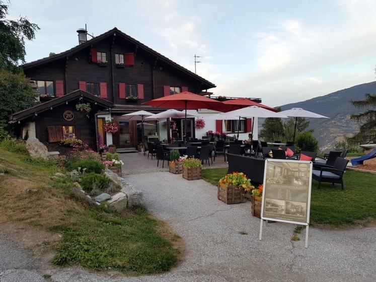 Val d'Hérens : Restaurant Le Bois Rouge