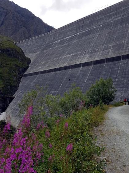 Val d'Hérens ; barrage de la Grande Dixence