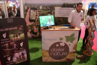 Le stand Atelier Nature
