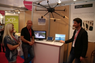 Le stand Dronimages