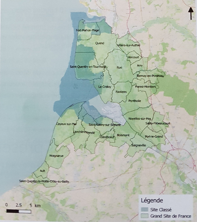 La Baie de Somme : carte