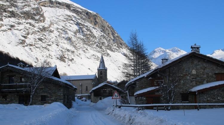 Bonneval sur Arc : Entrée du vieux village