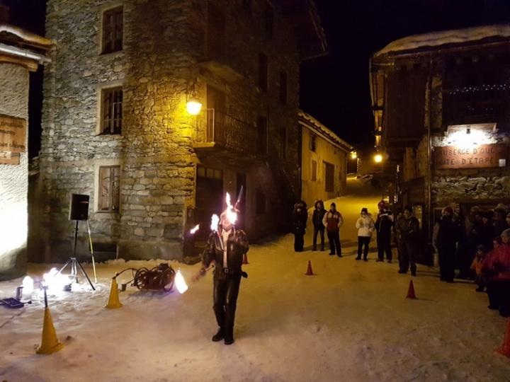 Bonneval sur Arc : Jongleries